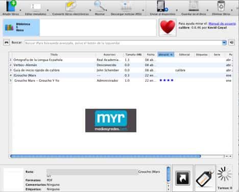 Calibre ebook