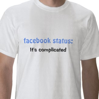 facebook status its complicated tshirt p235244763611502330adc0r 325