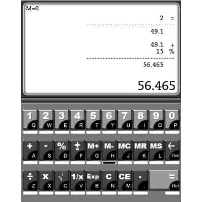 kindle easycalculator