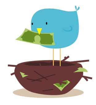 twitter account worth