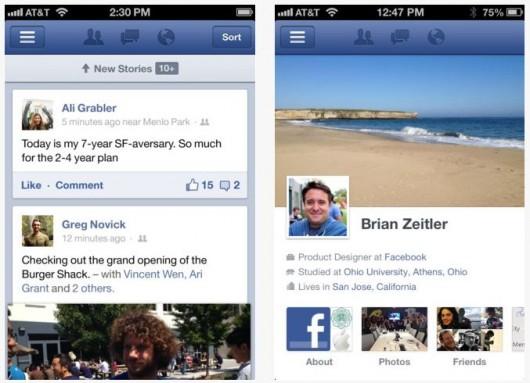 Facebook iOS 5.0