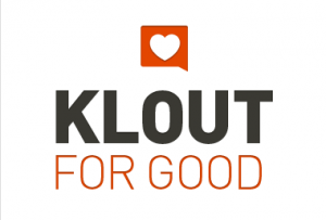 Klout for Good