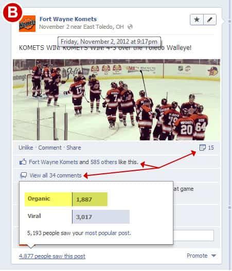 Actualizaciones Facebook con imágenes