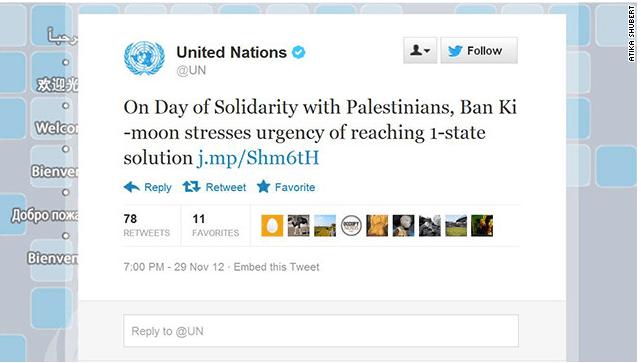 Un tweet de la ONU causa rechazó y polémica en Twitter