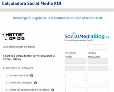 3 recursos para calcular el Social Media ROI