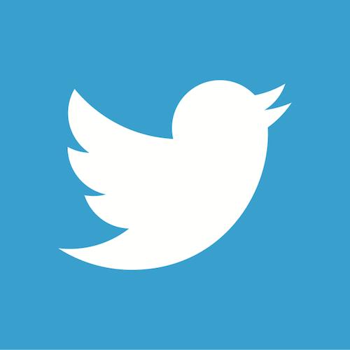 logo Twitter blue