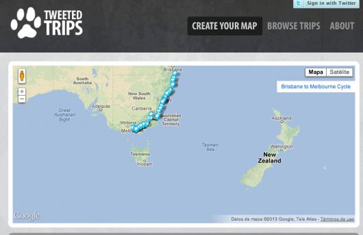 Mapas Twitter