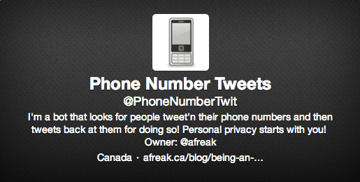 privacidad Twitter
