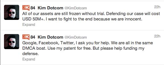 KIM DOtcom chantaje twitter