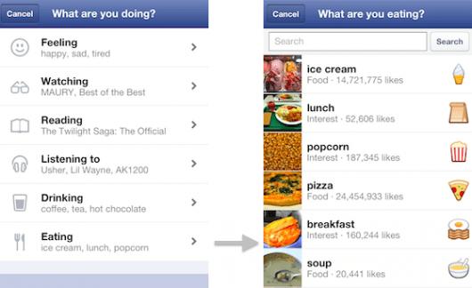 facebook web móvil