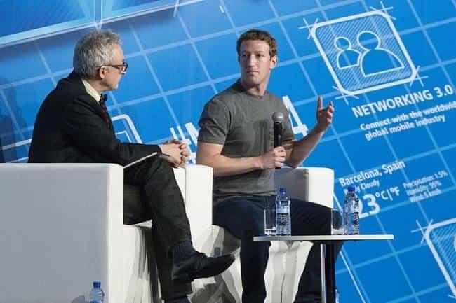 El fundador de Facebook en el Mobile World Congress