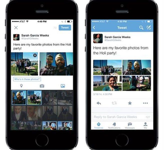 Cómo etiquetar fotos en Twitter