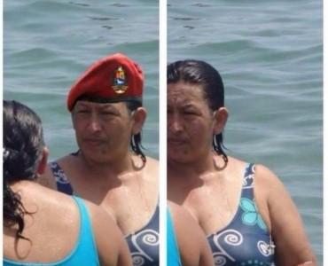 Hugo Chávez y una foto que recorre el mundo
