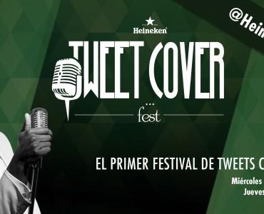 Heineken Tweet Cover Fest, concurso musical en Twitter