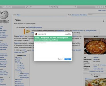 Tumblr para OS X Yosemite