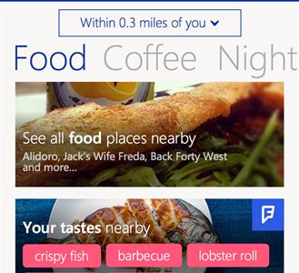 Llega Foursquare para Windows Phone actualizado