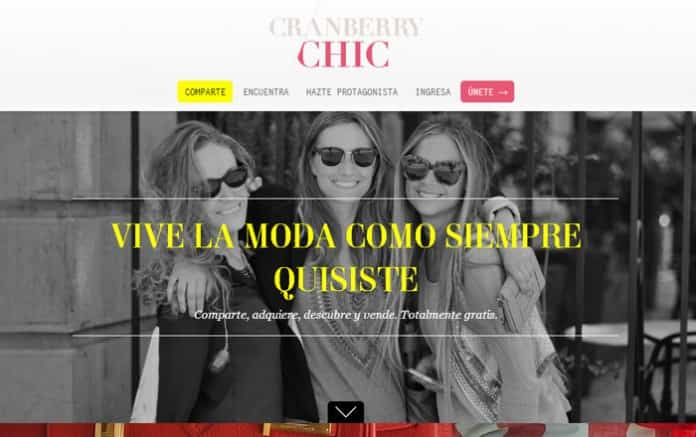 nueva red social cranberry chic