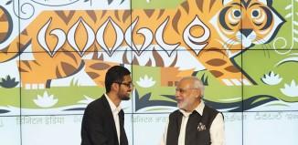 acuerdo entre Narendra Modi y Sundar Pichai