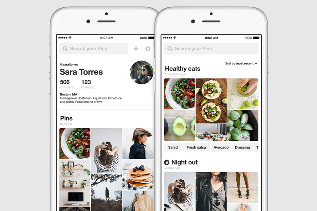 guardar pins en Pinterest
