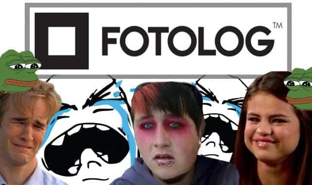 redes sociales en desuso - fotolog