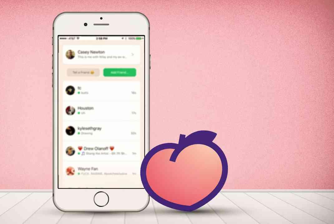 redes sociales de las que todo el mundo habla - Peach