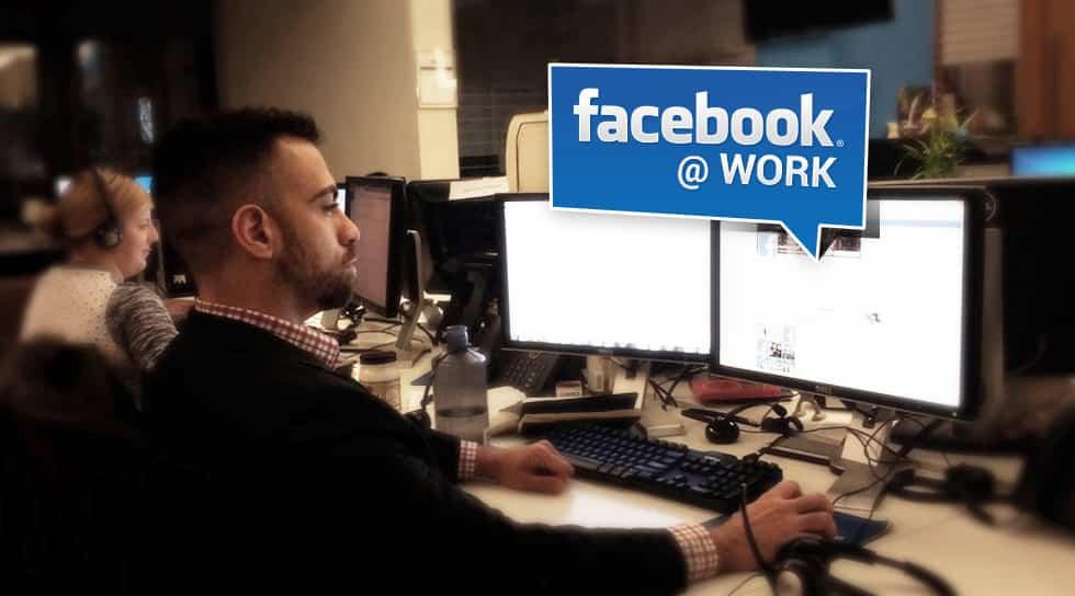 facebook at work para empresas