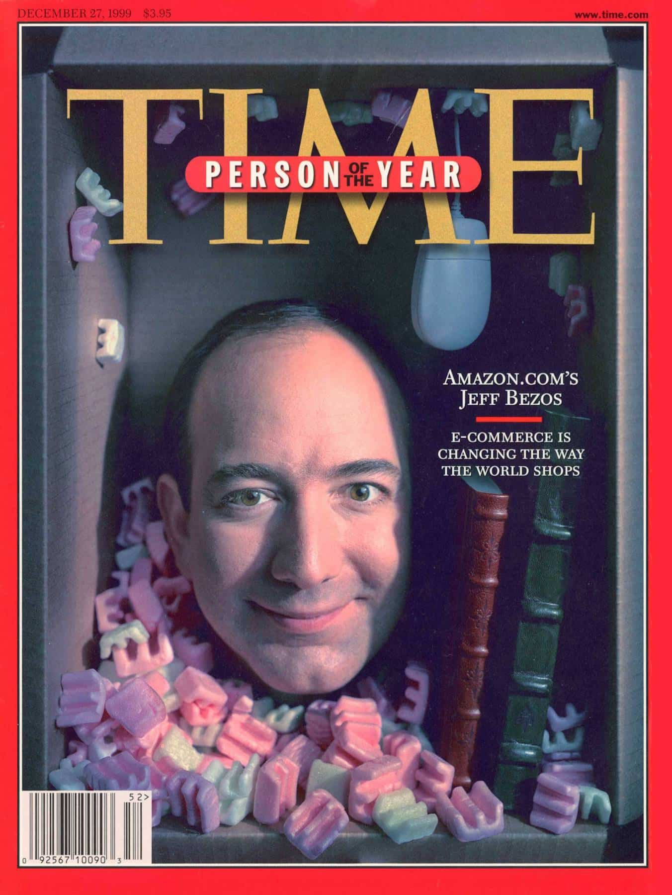 Jeff Bezos, persona del año en revista TIME
