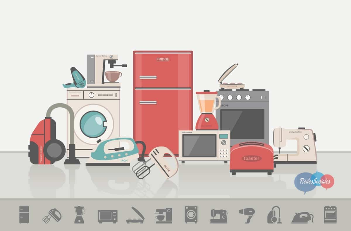 electrodomesticos del hogar